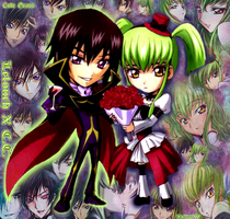 Lelouch X C.C. Wallpaper by CodeGeass-Fans