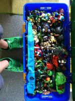 TMNT Collection - Toy Chest by Cronos-Stef