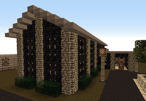 MC Tekkit RailCraft Building by CrazyRonn