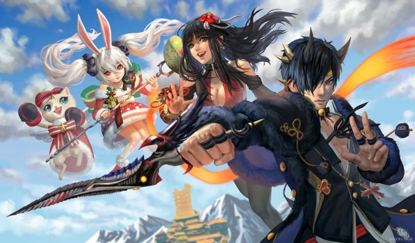 Blade and Soul by Rozelque