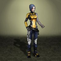 Borderlands 2 Maya by ArmachamCorp