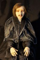 Nicolai Gogol close-up by MarylinFill