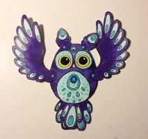 Owl Paperdoll by Myrntai