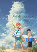 Summer Boys - Haikyuu!! Visual Fanbook by PenguinFrontier