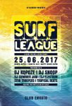 Surf League Flyer by styleWish