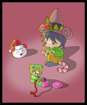 Blackmago Christmas by Domie1337