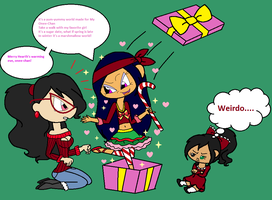 An unexpected holiday surprise for Cyanne by Obeliskgirljohanny