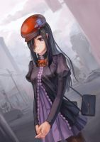 Weird clothes Hanako by yukira0
