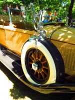 1934 Cadillac Custom-314 Touring DeLuxe - Tire by Kitteh-Pawz