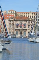 Marseille City Hall and Old Harbor by A1Z2E3R