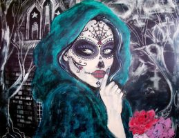 day of the dead girl 2 by zombiebastard17