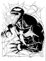 Daily Sketch Venom by BESTrrr
