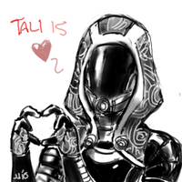 Tali is Love by johnjoseco