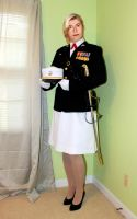 OK, This is me in my USMC Captain uniform. by juliegrey2001
