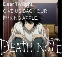 love,death note by lildevil927
