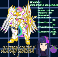Alicorn Gundam by sudro