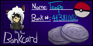 Tempo's Bankcard by hopelessShark
