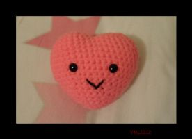 amigurumi heart by VML1212