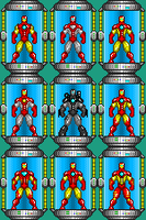 Iron Man Armors [WIP] by THX1138666