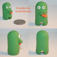 Franklin the Timid Monster by TimidMonsters