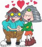 Hoagie and Fanny in Love by nintendomaximus