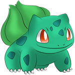#001 Bulbasaur by Icedragon300