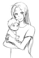 FMA: A mother by qianying
