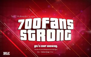 700 Fans Strong by TedZ01