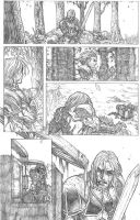 Something Evil page 14 pencils by RudyVasquez
