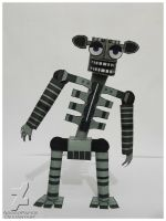 five nights at freddy's 2 Endoskeleton by Adogopaper