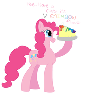 Pp Wants You To Have A Cake by coolmlpfangirl450