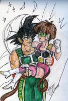 Bardock and Fasha by StarbearerTM