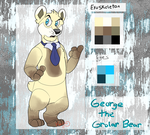 FNaF OC Adoptable- George the Grolar Bear (CLOSED) by MochiFries