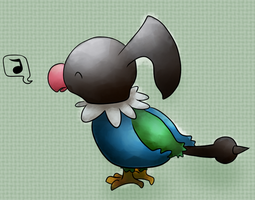 Chatot by Lin00ne