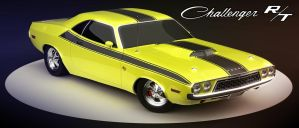 Dodge challenger RT V1 by CubicalMember