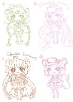 [CLOSED] SALE ~ 0.50$ each ~ Adoptables by maributt