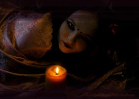 Candle light by Arnoldinya by DigitalArtNetwork