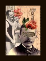 Mixed Media Collage 182 by GregPDX