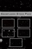Snowflakes Stock Pack by Theta-Scorpii