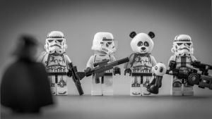 Panda trooper by Yodinio