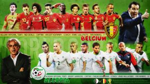 Belgium - Algeria by HkM-GraphicStudio