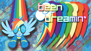 Rainbow Dash Wallpaper by Fiftyniner
