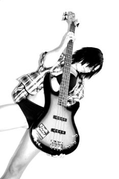 Eve with my Bass by Lolly-Me