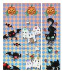 Halloween bookmarks 2007 by Blacklotuscomic