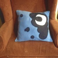 Princess Luna Cutie Mark Pillow by Kisses-or-Stitches