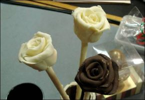 chocolate roses by heartofthesouth