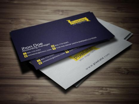Pixelate Business Card [Psd] by Ja-Ghraphics