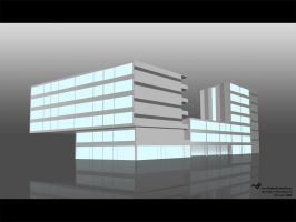 3D Building by overmindmkd