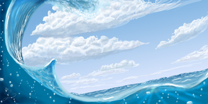 SPEED PAINT Hawaiian Ocean by Lani-Spades