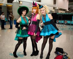 PowerPuff Girls - Comikaze by EriTesPhoto